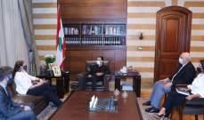 الحريري عرض مع سفيرة استراليا العلاقات الثنائية بين البلدين