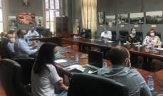 اجتماع في بلدية طرابلس مع UNDP لإطلاق عملية إعداد دراسة مشروع إعادة إحياء منطقة التل