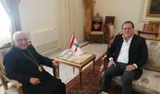 شقير التقى حبيب: نريد حكومة لنتمكن من اعادة بناء البلد