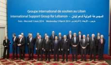 مجموعة الدعم الدولية طالبت الحكومة والنواب باتخاذ كل الخطوات المتاحة للتخفيف من الضغوط الاقتصادية