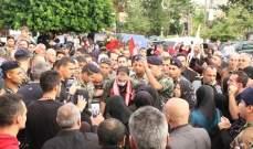 استقبال شعبي حاشد للجريح الرقيب اول في الجيش اللبناني في زوطر