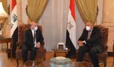 وزير الخارجية العراقي: سنستمر بإيجاد سبل التعاون للتصدي للتحديات بالمنطقة