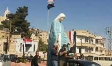 النشرة:معلولا تستعد لإعادة تمثال السيدة العذراء لكنيسة القديس جاورجيوس