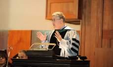 رئيس الجامعة الأميركية ببيروت: قيمنا هي قيم المساواة في المعاملة