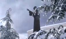 رئيس بلدية عنايا للنشرة: الثلوج غطت عنايا وكل طرق المبلدة سالكة