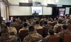 رودز فور لايف تخرّج 105 عسكريين من اللواء الثامِن في الجيش
