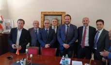 ماسيمو للتيار الوطني الحر في إيطاليا: ملتزمون والحكومة الإيطالية تجاه لبنان