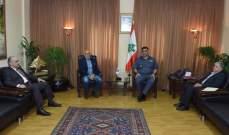 اللواء عثمان التقى رئيس جامعة القديس يوسف