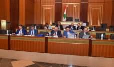 لجنة المال والموازنة تستكمل دراسة مشروع الموازنة بحضور 60 نائبا