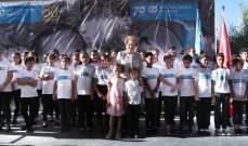 اللبنانية الاولى تمثل الرئيس عون برعاية حفل قرى اطفال sos