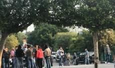 اعتصام امام مدخل النافعة بالدكوانة وآخر أمام كهرباء لبنان في كورنيش النهر