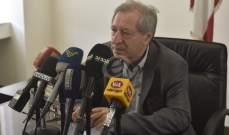 محفوظ: نأمل من القوى الامنية تفهم الظروف الصعبة لعمل الصحفيين وتسهيل مهمتهم