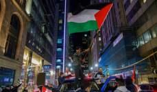 صدامات في كندا بين مؤيدين للفلسطينيين وموالين لاسرائيل