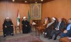 قبلان التقى البخاري في المجلس الإسلامي الشيعي الاعلى