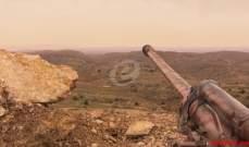 بدء هجوم حزب الله على موقع الساتر الأبيض من جهة القلمون تحت قصف تمهيدي