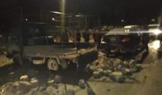 انتشار للجيش في بلدة العين بعد خلاف وإطلاق نار بسبب إصابة 3 متظاهرين صدمتهم سيارة