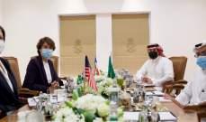 وكيل الخارجية السعودية للشؤون السياسية التقى سفيرتي الولايات المتحدة الأميركية وفرنسا لدى لبنان