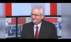 ايلي أسود: المتظاهرون في كل لبنان يشكلون 7.30 بالمئة من سكان لبنان