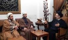 فضل الله استقبل وفد الحملة العالمية للعودة إلى فلسطين: قضية ليست قابلة للمقايضة