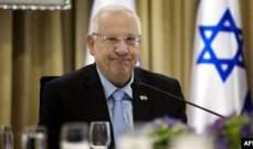 الرئيس الإسرائيلي للسيسي: العلاقات مع مصر ذخر استراتيجي