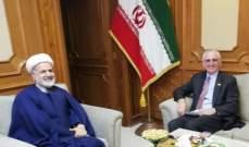سفير إيران بسلطنة عمان: الحل الوحيد لأزمة اليمن هو التفاوض وعلى السعودية إبداء إرادة جادة