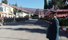 النشرة: عرض عسكري في ثكنة أبلح بمناسبة عيد الجيش