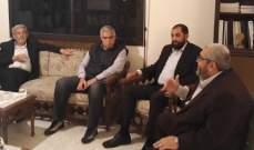 رئيس المنظمة اللبنانية للعدالة التقى مرشح القوات عن دائرة صيدا جزين