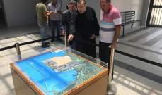 رئيس المعهد الانطوني جال على فاعليات طرابلسية
