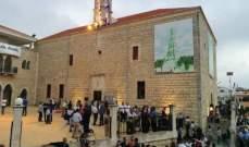 قداديس الميلاد عمت كنائس قرى وبلدات قضاء بنت جبيل