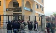 المحتجون أقفلوا الدوائر الرسمية في حلبا