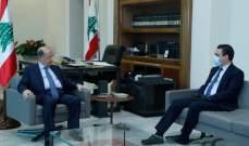 الرئيس عون التقى صحناوي ومحفوظ في قصر بعبدا