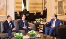 بطيش: أطلعت الحريري على المقترحات التي تقدمت بها كحلول للازمات الاقتصادية