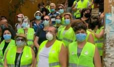 جمعية RICA تتابع أعمال التنظيفات مع أهالي منطقة الأشرفية