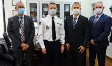 قوى الأمن تسَلمَت هبة من السفارة الفرنسية بلبنان لمكتب المختبرات الجنائية