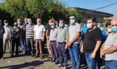 النشرة: اعتصام لإتحادات ونقابات قطاع النقل البري في مدينة صيدا