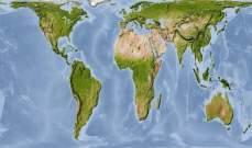 خريطة جديدة للعالم تصحِّح مساحات الدول والقارات