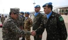 """بدء التطبيق الفعلي لنشر الوحدة الكازاخية في قوات """"اليونيفيل"""""""