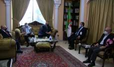 وفد من المرابطون زار السفارة الجزائرية مهنئاً بالذكرى الـ 66 لثورة التحرير الجزائرية
