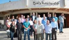 المطران درويش استقبل مدير عام وزارة الزراعة
