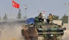 الأركان التركية: قصف رتل مكون من 30 – 40 آلية شمال سوريا