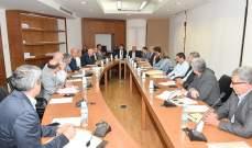 فرعية الاشغال تابعت الاستماع بموكلي الوزارات والادارات حول مشاكل الصرف الصحي
