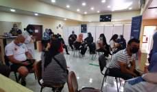 النشرة: إقبال كثيف على حملة ماراتون لقاح استرازينيكا في مراكز الجنوب