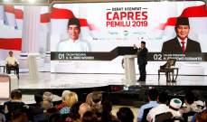 فوز الرئيس الإندونيسي جوكو ويدودو بولاية ثانية