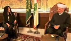 عكر من دار الفتوى: نعول على المرجعيات الدينية  لتوسيع مساحة التلاقي بين اللبنانيين