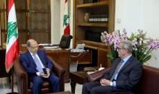 الرئيس عون:ما كان مستحيلا إنجازه بقانون انتخابي جديد تحقق بفترة قياسية