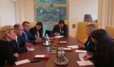 اللقيس تابع زيارته الى ايطاليا والتقى رئيس لجنة الزراعة وسفير إيران في الفاو