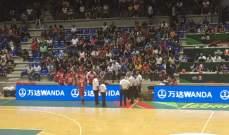 تقدم منتخب لبنان على كازاخستان بنتيجة 56-33 في بطولة آسيا لكرة السلة