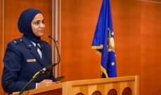 تعيين مسلمة واعظة دينية في الجيش الأميركي للمرة الأولى في التاريخ