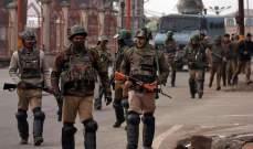 شرطة الهند شددت القيود في كشمير بعد خطاب رئيس وزراء باكستان