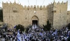 الفلسطينيون يدخلون الأقصى لأول مرة منذ نحو أسبوعين